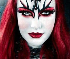 Dracula, make up, and artístico image