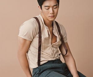 handsome, korean, and man image