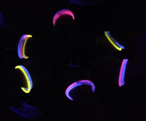 friendship, neon, and friends image