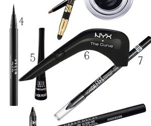 eyeliner, Maybelline, and NYX image