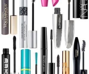 beauty, lancome, and mascara image