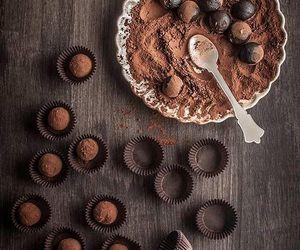 chocolate and truffles image