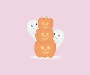 background, Halloween, and ghost image