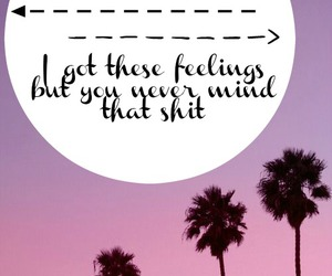 california, feelings, and text image