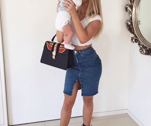 baby, daughter, and style image