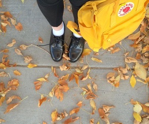 yellow, aesthetic, and fall image