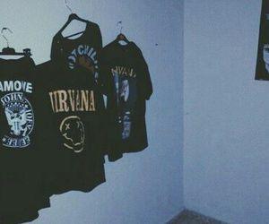 nirvana, grunge, and ramones image