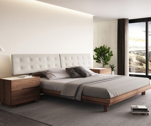 bedroom, bedroom set, and bedroom by huppe image