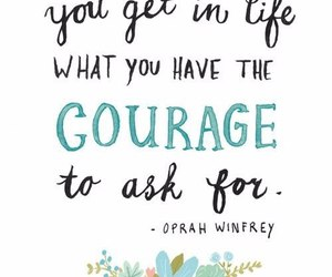 quotes, courage, and life image