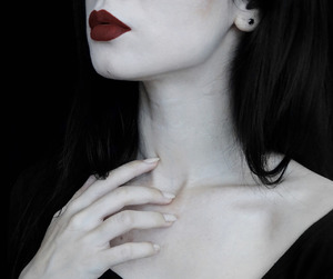 girl, goth, and alternative image