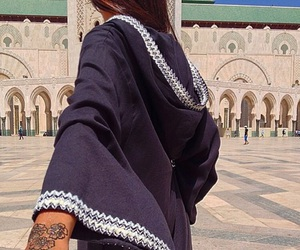 henna, girl, and moroccan image