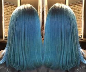 amazing, blue, and dye image