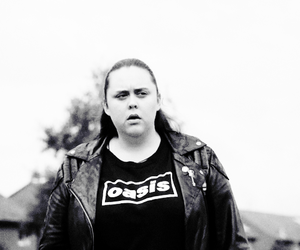 black and white, my mad fat diary, and rea earl image
