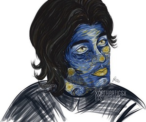 drawing and zayn malik image
