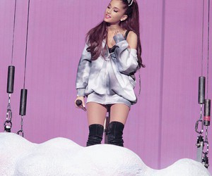 high quality, lavender, and ariana grande image