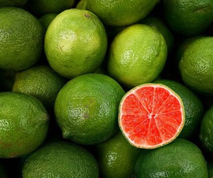 fruit, green, and lime image