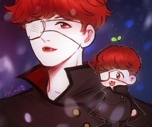 fanart and baekhyun image
