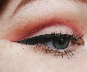 eye, makeup, and mine image