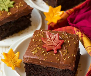 autumn, cake, and chocolate image