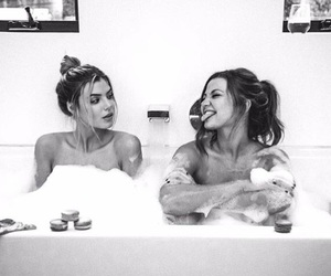 bff, bath, and friendship image