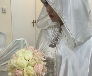 allah, dress, and flowers image