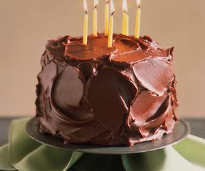 cake, chocolate, and bday image