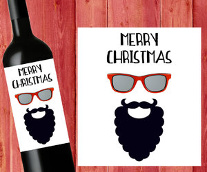 beer, christmas, and hipster image