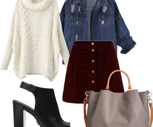 autumn, clothes, and fashion image