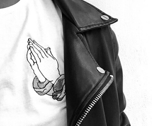 grunge, pray, and black image