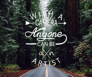 camera, mountains, and nature image