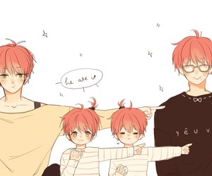 Chen, family, and cute image