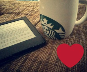 chill, eBook, and starbucks image