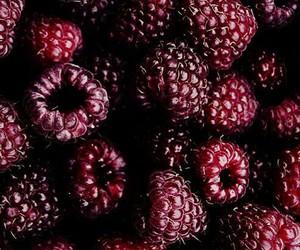 fruit, raspberry, and burgundy image