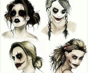 joker, girl, and harley quinn image