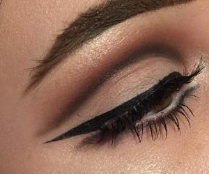 eyeliner, eyeshadow, and make up image