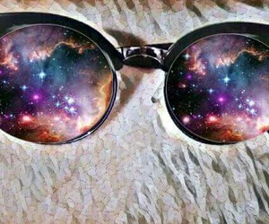 galaxy, sunglasses, and galax yglasses image