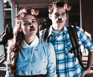 couples, teen wolf, and dylan o'brien image