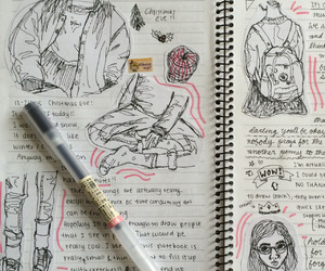 journal and sketches image