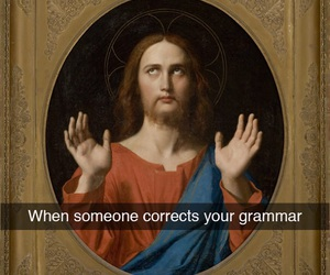 funny, grammar, and tumblr image