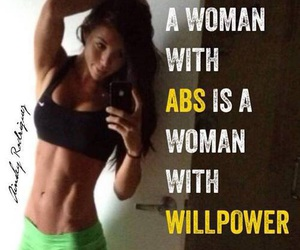 abs, motivation, and workout image