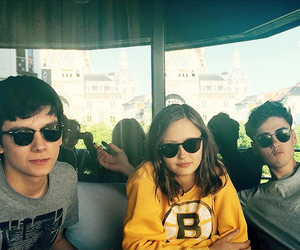 asa butterfield, ella purnell, and finlay macmillan image