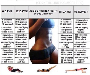 workout, abs, and fit image