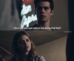 unlove, teen wolf, and lydia martin image