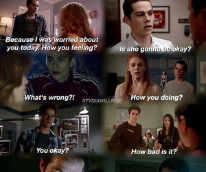 lydia, ok, and teen wolf image