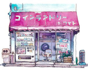 aesthetic, illustration, and anime+ image