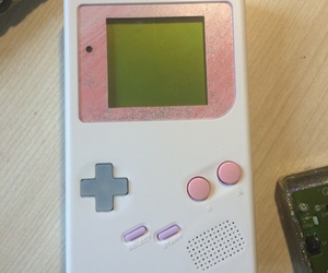 pastel, gameboy, and gaming image