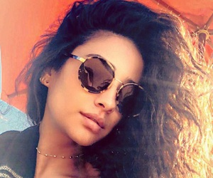 lesbian, shay mitchell, and emily fields image