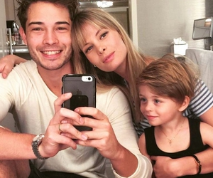 baby, couple, and Francisco Lachowski image