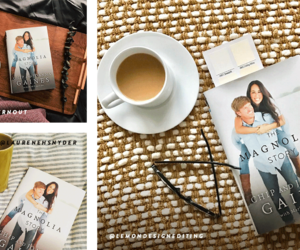 chip and joanna gaines and magnolia story image