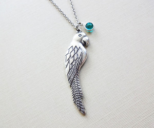 animal, necklace, and bird image